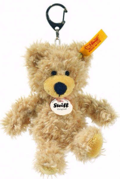 Fluffy Charly Teddy Bear Keyring/Bagclip, Steiff EAN 111884